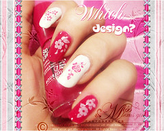 .. {  nc . gn / / c . n ??  (*S  7  ~ E     ) Tags: white color art design nail olympus manicure fushia colorphotoaward