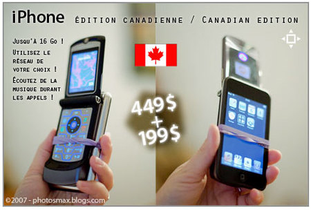 iPhone édition canadienne