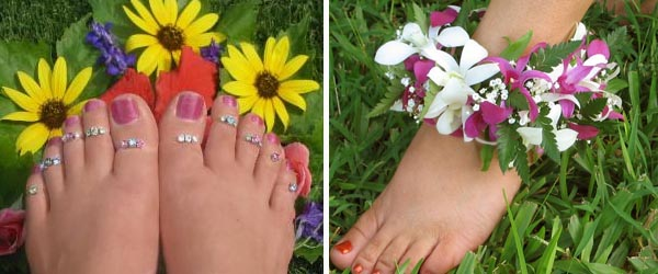 Who wears toe rings