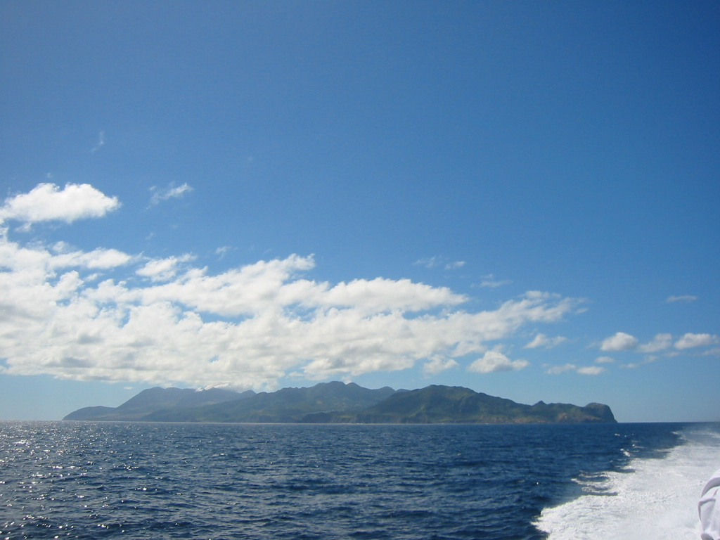 Montserrat - from the ferry
