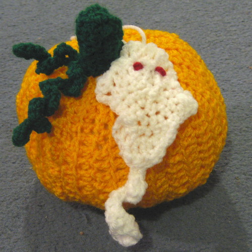Crochet pumpkin 2