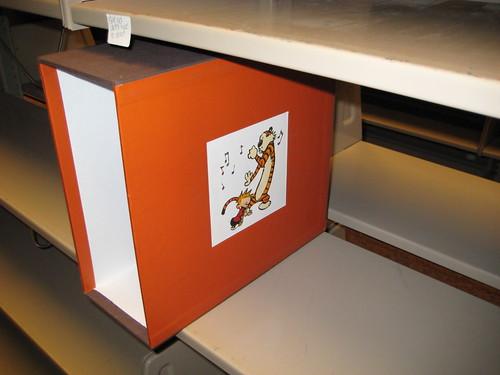 Empty Calvin & Hobbes Box