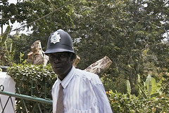 Nice hat, sir