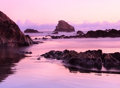 Liquid Emotions (| HD |) Tags: ocean pink sunset usa seascape 20d beach oregon canon landscape coast pacific northwest violet filter hd darwish hamad cokin wwwhamaddarwishcom