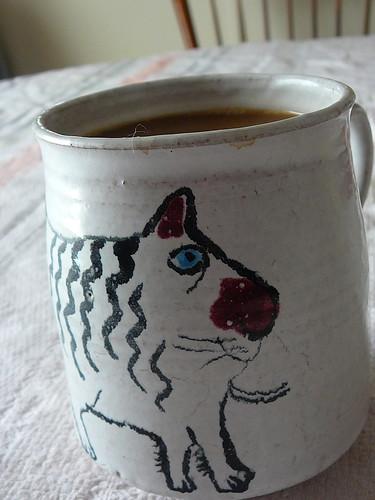 6. cat mug