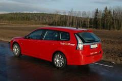 Saab 9-3 -08 (saabrobz) Tags: cars car bil 93 saab 08 biopower etanol sportcombi rescuesaab