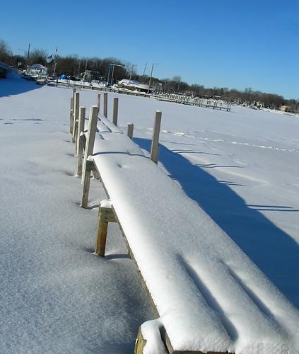 Snowy Dock