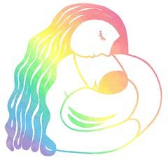 Mother and Child (naturemandala) Tags: woman infant child heart mother breastfeeding nursing