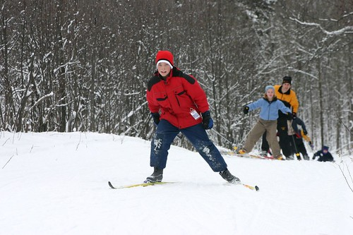 Skiing at Snowflake