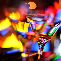 drinkblot (♫ marc_l'esperance) Tags: coloured light reflecting diffracting bending through martini glasses dof blur blurry bokeh colorful colors colours glass abstract patterns canon eos 5d raw canonef50mmf14usm 2007 cml diamondclassphotographer colourartaward happynewyear festive celebration joy party artlegacy wow abstractart iso1000 © allrightsreserved colorphotoaward luxmaticcom