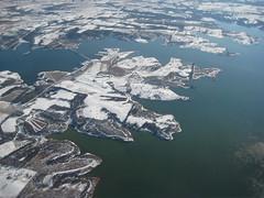 Missouri, Winter 2007 (Lauren Markley) Tags: winter snow missouri arial