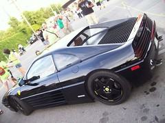 A Black Ferrari 348 Tb A Photo On Flickriver
