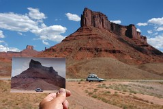 Parriott Mesa in 2002 and 2004... 20040711_3551 (listorama) Tags: 2002 2004 photography highway location revenge mesa repeat rephotography landform highway128 spatialawareness parriottmesa