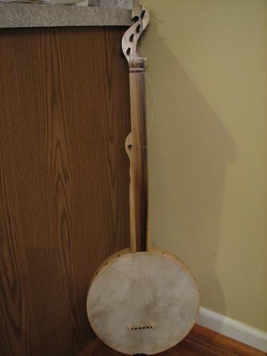 Hand drum banjo