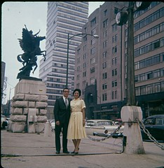 Ruben & Tina in Mexico City. (1960)