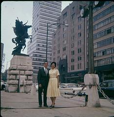 Ruben & Tina in Mexico City. (1960)