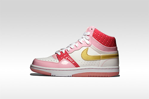 Nike Women's Court Force High Valentine's Day 2008