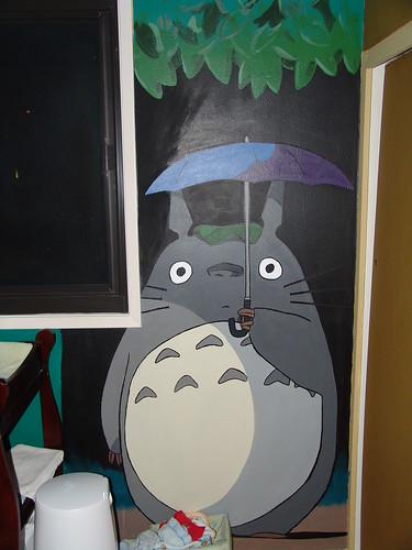 Here's the totoro after the new windows are up...
