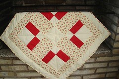 Scots plaid (Patchdreams) Tags: hand quilt artesanato made kits patchwork trabalhos painel manuais botao pan forrado