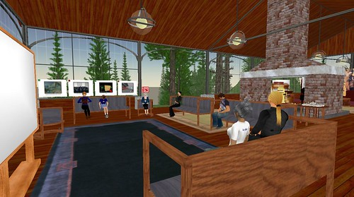 Second Life: Sea Turtle Island - Lodge: Joop Zuhal & Scot Jung Presentation for SL@UM