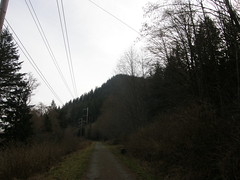 Approaching Cedar Butte (bikejr) Tags: ironhorse johnwayne cedarbutte