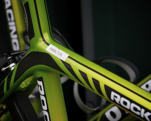 Rock Racing, De Rosa, Tyler Hamilton Bike