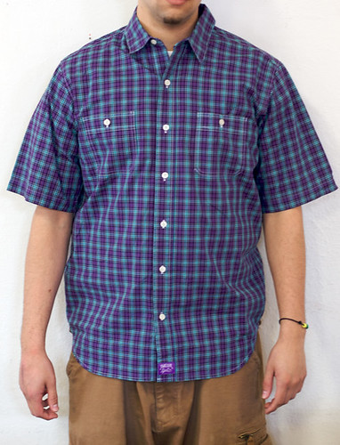 Twelve Bar Isley Plaid Short Sleeve