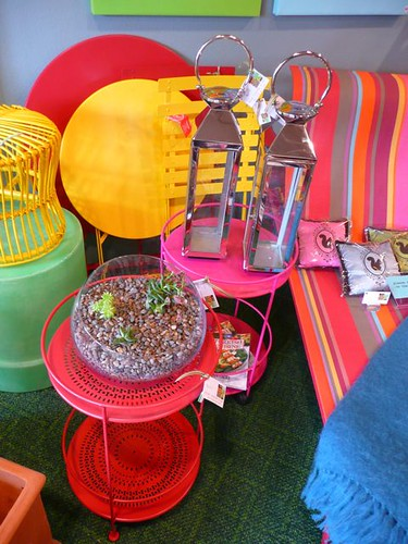 Outdoor furniture at digs