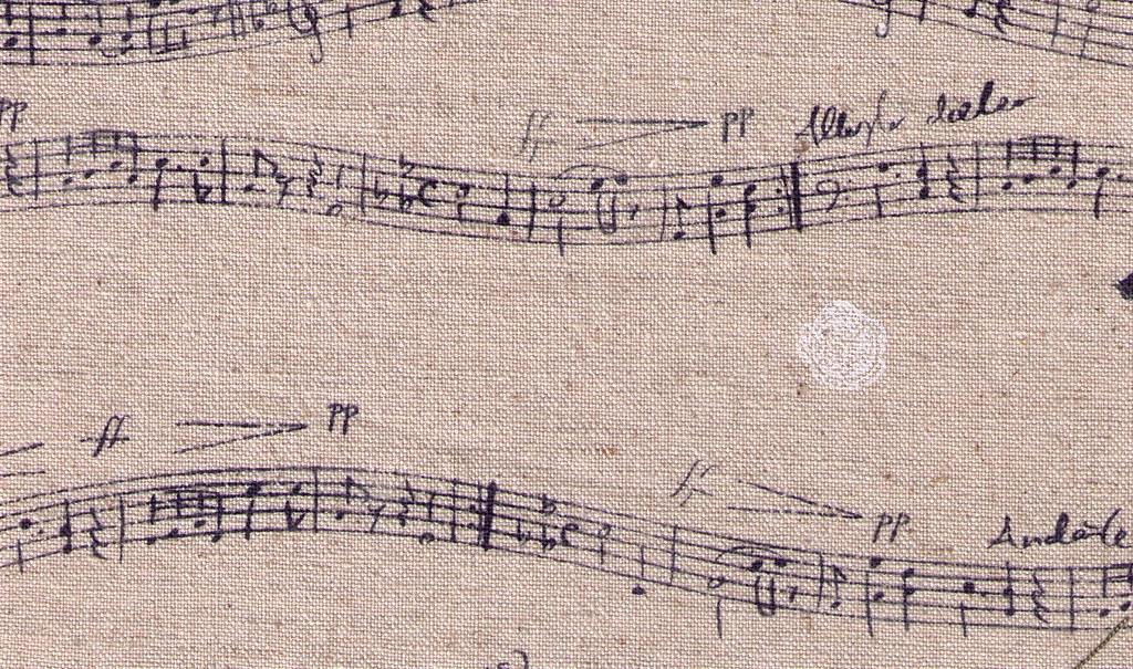 music sheet - notes