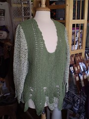 Leaves Sweater by Annette Petavy