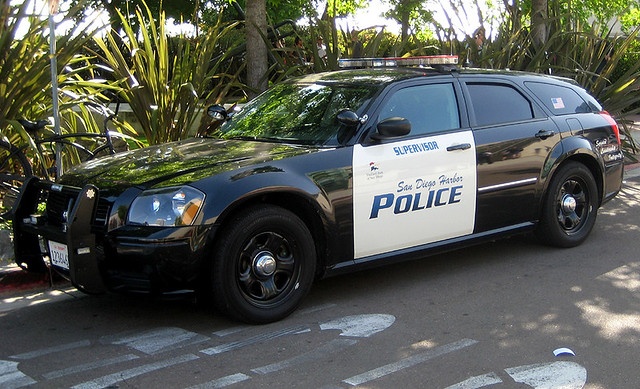 harbor sandiego police dodge magnum
