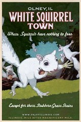 Offbeat Illinois - White Squirrel Town