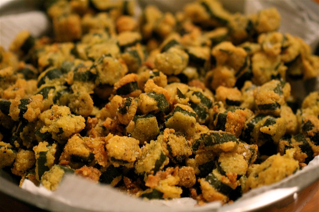 Fried Okra by thebittenword.com, on Flickr