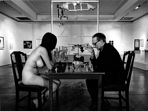 Duchamp Chess Nude by InteriorBasement.
