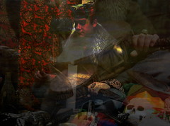 "Shamanic Trance (h.koppdelaney) Tags: art work skull ancient power drum spirit earth magic des ancestor ritual session tradition underworld transition ancestors healing mythology shaman trance myths archetype ethnology healer alteredstatesofconsciousness hourofthesoul ""healing energy"" ""rites passage"" schamanische heilrituale nnart mohanrai"