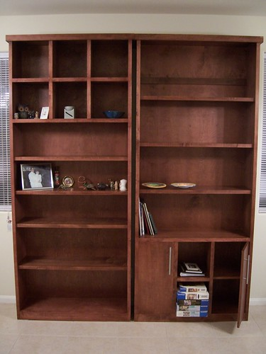 Main bookcases