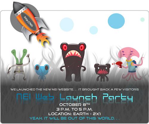Web Launch Party