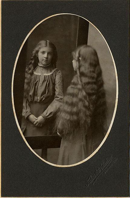 Очень длинные волосы...