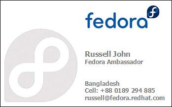 Fedora Ambassador for Bangladesh