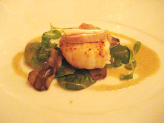 Le Bernardin - 12.12.09 (foodforfel) Tags: mushroom seafood finedining langoustine tastingmenu frenchfood foiegras michelinstar lebernardin ericripert