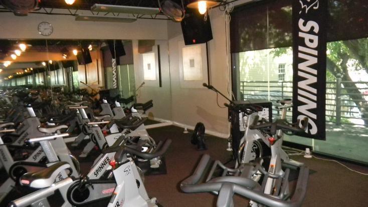 Salvation Studio Spinning bikes