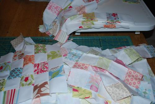 Verna Postage Stamp Quilt