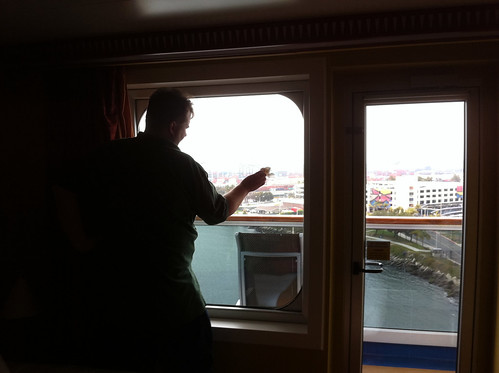 Carnival Splendor - Mike's Now-Traditional Window Wash