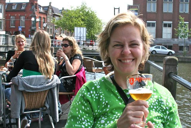 Belgian Beer in Leiden, The Netherlands