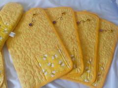 Abelha (Elis Eli) Tags: abelha be patchwork kitdecozinha