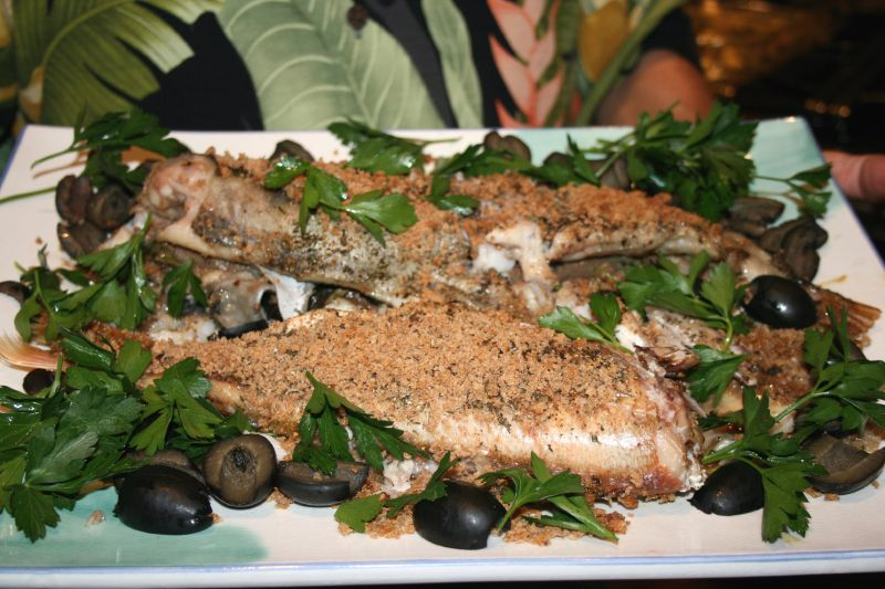 Sicilian Style Cod