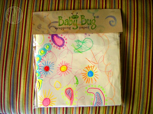 B Bug Wrapping Paper