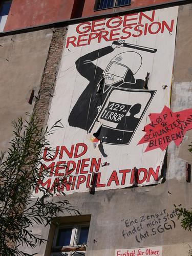 GEGEN REPRESSION UND MEDIENMANIPULATION