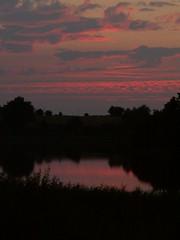 Sonnenuntergang in Mecklenburg-Vorpommern
