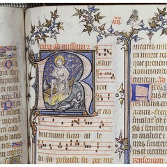 Detail from St Denis Missal